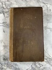 """1837 Antique History Book """"Napoleon in Council"""" Damaged"""