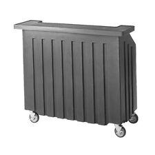 """Cambro Bar540110 54"""" Portable Bar (Black)"""
