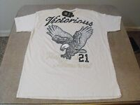Victorious light khaki Victory Is Imminent 21 eagle, urban, low rider t-shirt