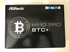 ASRock H110 Pro BTC+ 13GPU Mining Motherboard (bitcion Mining) BRAND NEW