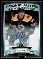 2019-20 OPC Platinum Rookie Auto #R-CC Connor Clifton RC - Boston Bruins