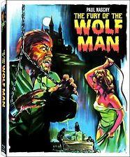 FURY OF THE WOLFMAN *Blu-Ray *Limited 1/1500 Paul Naschy GORE! *w/RARE SLIPCOVER