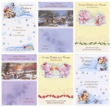 CUTE TO A SPECIAL BROTHER AND FIANCEE CHRISTMAS CARD 1STP&P