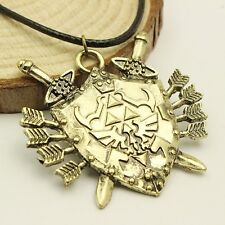 New The Legend Of Zelda Triforce Vintage Shield Necklace Choice
