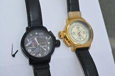 2  Ed Hardy Christian AudigierUnisex Watches ,Both Runs, 1 needs crown&stem
