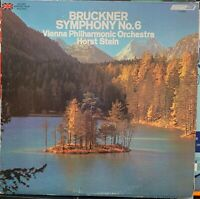 Bruckner Symphony No. 6 Vienna Philharmonic - Horst Stein Excellent LP