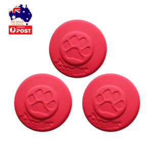3 Pcs Dog Frisbee Flying Disc Pet Fetch Chew Indestructible Large Dog Toys Gift