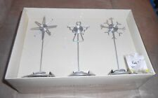 Pier 1 Set of 3 Holiday Photo Holders  Never Used