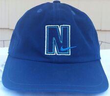 Nike snapback hat cap youth size vintage 90s navy/green vtg