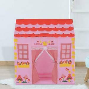 Children Baby Kids Pop Up Play Tent Fairy Girls Boys Playhouse Indoor Outdoor