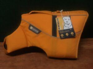 Ruffwear Float Coat Dog Life Jacket Medium Wave Orange New Without Tags