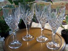 Shannon by Godinger Dublin Crystal Goblet Wine Glasses Stemware - Open Box (4)