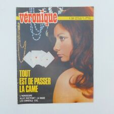 "Magazine ""Véronique"" n°36 de 1970 ♦ Michèle Torr ♦ Eddy Mitchell ♦ Paco Rabanne"