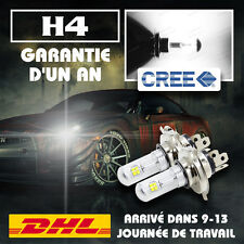 80W CREE LED 8-SMD Phare Auto Ampoule Lampe H4 Hi-Lo Canbus Headlight 6000K Feux