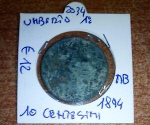 UMBERTO 1° 10 CENTESIMI 1894  N.2034