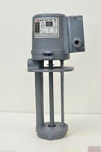 """1/8 HP Machinery Coolant Pump, 110/220V, 1PH, 180mm (7"""") Shaft, CE, FLAIR"""