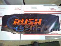 rush 2049 arcade marquee #2