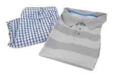 Men's Summer Outfit Geoffrey Beene Plaid Shorts 36 Great Northwest Gray Polo Xl