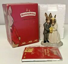 More details for boxed bunnykins wedding day figure db287 with booklet & certificate doulton