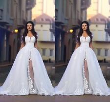 New White/ivory Wedding dress Bridal Gown custom size 6-8-10-12-14-16 +++