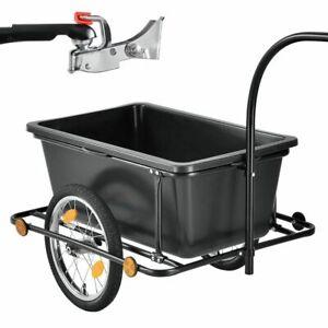 Fahrradanhänger Handwagen Transportanhänger Lastenanhänger Radanhänger Juskys®