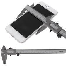 """Vernier Caliper 6"""" 0-160mm Stainless Steel Metal Measuring Tool Gauge Micrometer"""