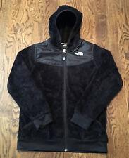 The North Face Oso Hooded Fleece Jacket Girls XL Deep Pile Hoodie Denali