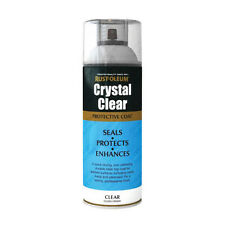 x16 Rust-Oleum Crystal Clear Multi-Purpose Spray Paint Lacquer Top Coat Gloss