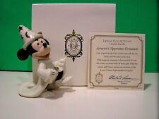 Lenox Mickey Sorcerer'S Apprentice Ornament Disney New in Box with Coa