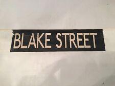 "Birmingham Vintage Linen Bus Blind 70's 26""-2- Blake Street"