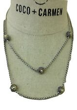 Coco + Carmen Clarion Collection Pearl Necklace #14248A