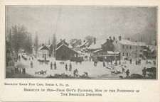 BROOKLYN NY – Brooklyn in 1820 From Guy's Painting – udb