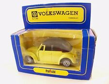 Polistil politoys E43 Volkswagen Cabriolet 1/43 neuf en boite