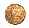 1913 France One Centime KM# 840 Small Bronze Coin