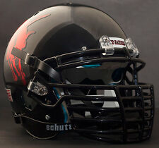 "*CUSTOM* TEXAS TECH RED RAIDERS Schutt XP REPLICA Football Helmet ""BIG GRILL"""