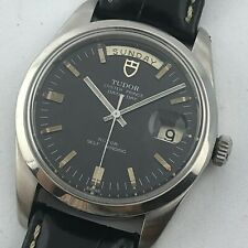 TUDOR JUMBO DAY DATE OYSTER PRINCE AUTOMATIC REF 9450/0 REFINISHED BLACK DIAL