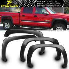 Fits 99-06 CHEVY SILVERADO OE FACTORY STYLE FENDER FLARES WHEEL COVER BLACK PP