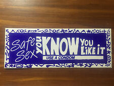 YOU KNOW YOU LIKE IT - Blue Sticker - Early 90's