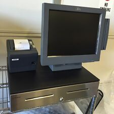 Restaurant Pos Full Set Up w/Touch Terminal, 2 Printers and Cash Drawer