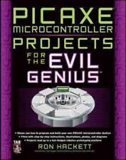 PICAXE MICROCONTROLLER PROJECTS FOR THE EVIL GENIUS - NEW PAPERBACK BOOK