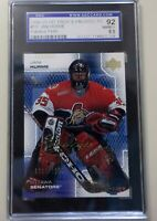 Jani Hurme 2000-01 UD Pros & Porspects Rookie SGC 8.5
