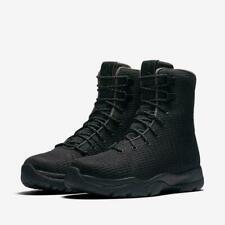 Nike Air Jordan будущих ботинки, черные, темно-серый водонепроницаемый 854554-002 различных размеров