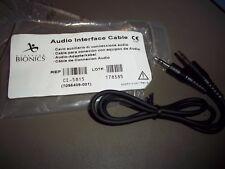 AURIA HARMONY AUDIO INTERFACE CABLE ADVANCED BIONICS CI-5815