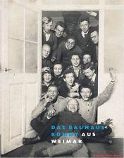 Libro especializado el Bauhaus viene de Weimar, amplia representación, muchas imágenes, nuevo