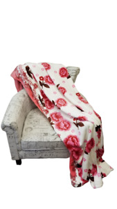Queen & King Flannel Blanket Soft Elegant 16 Designs Patterns End of Year Sale!!