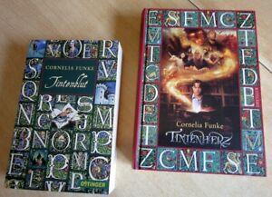 2 Jugendromane Tintenherz und Tintenblut von Cornelia Funke