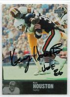 Washington Redskins KEN KENNY HOUSTON 1997 UD auto autograph signed card  HOF