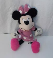 Disney Sega Pink Minnie Mouse Plush Stuffed Doll Toy