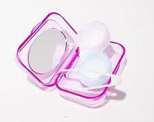 NEW Contact Lens Case With Mirror, Lens Container and eye lens picker (1 packs)