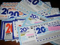 (15) Bed Bath and Beyond 20% off Single Item Coupons